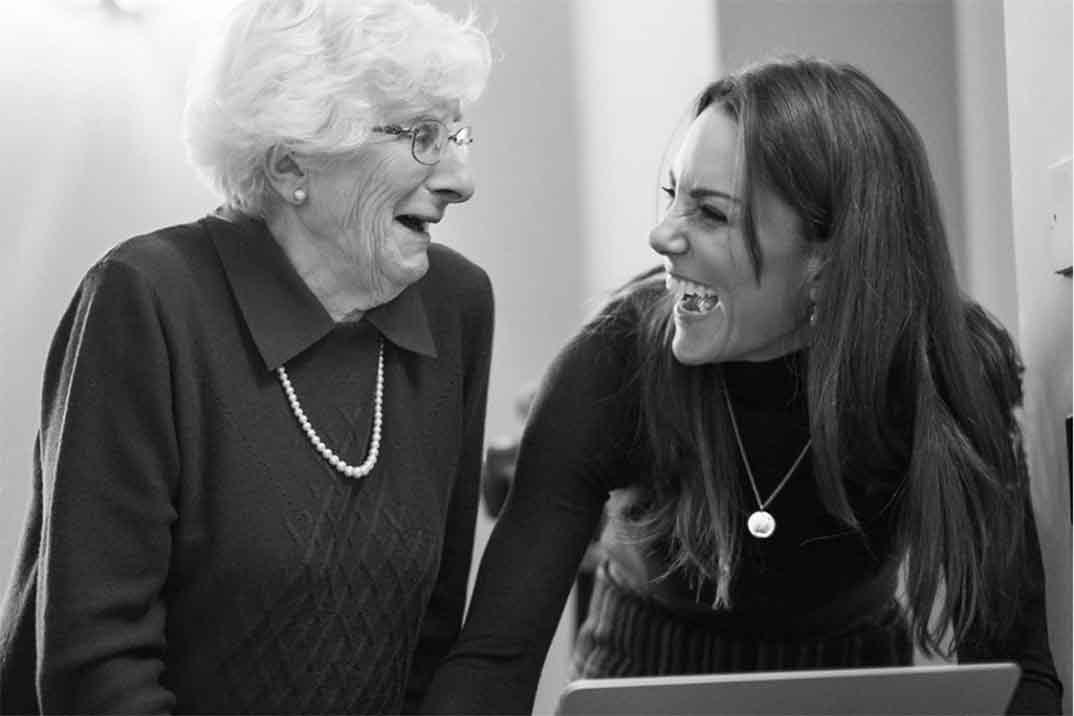 Kate Middleton fotógrafa de los supervivientes del Holocausto