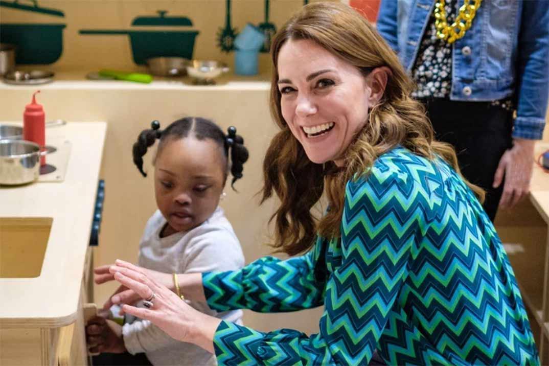 El look más setentero de Kate Middleton