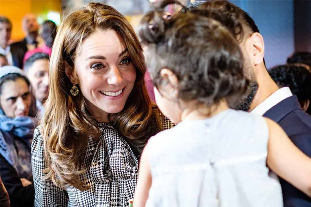 Kate Middleton reaparece con un vestido de Zara de rebajas