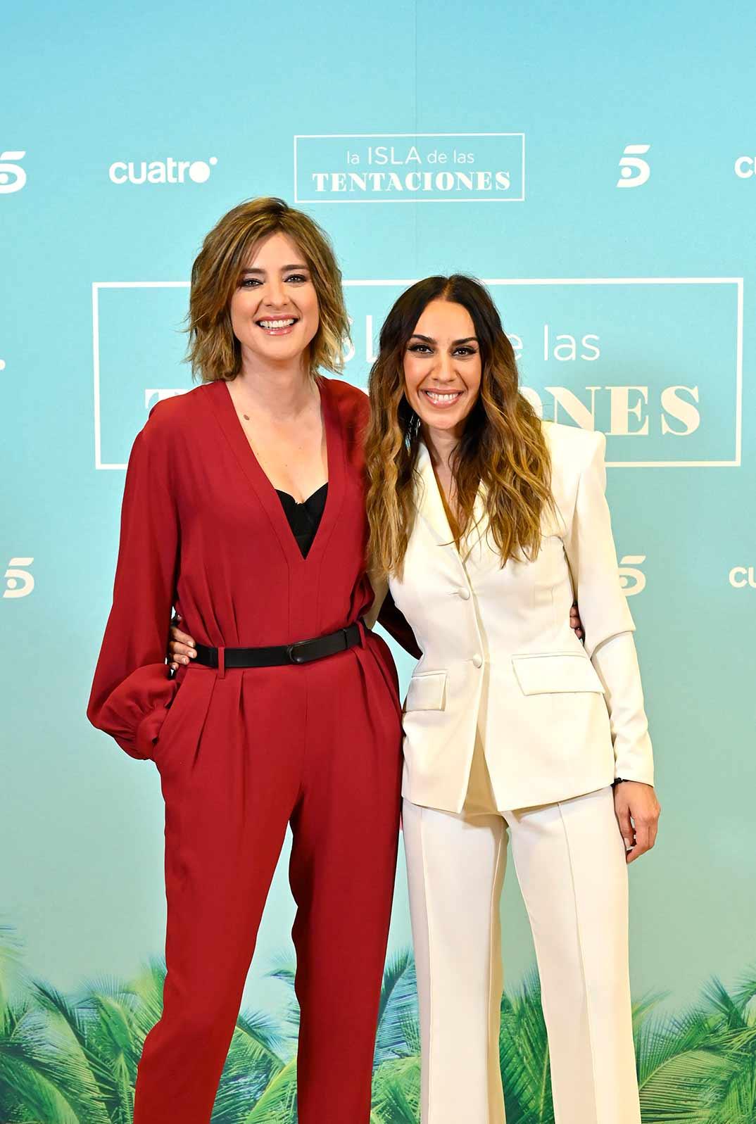 Sandra Barneda y Mónica Naranjo - La isla de las tentaciones © Mediaset