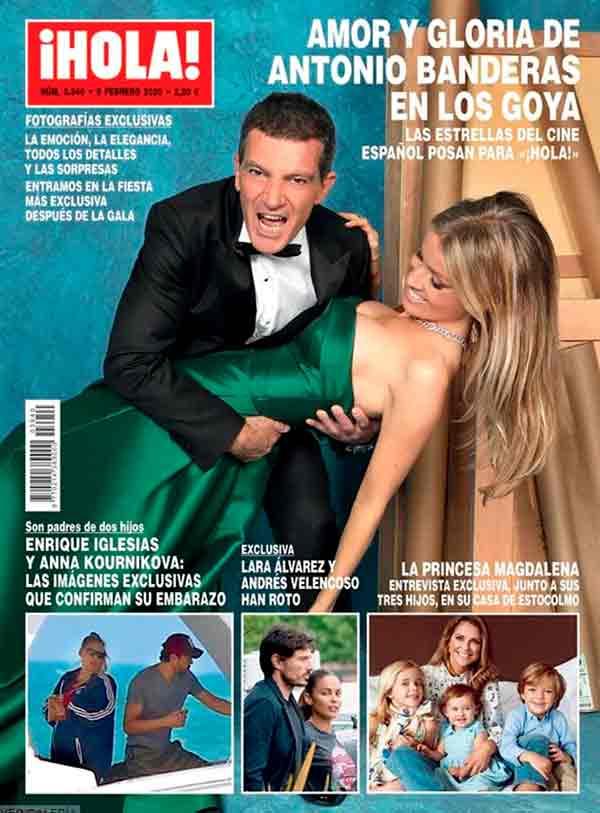 Andrés Velencoso y Lara Álvarez rompen- Revista Hola
