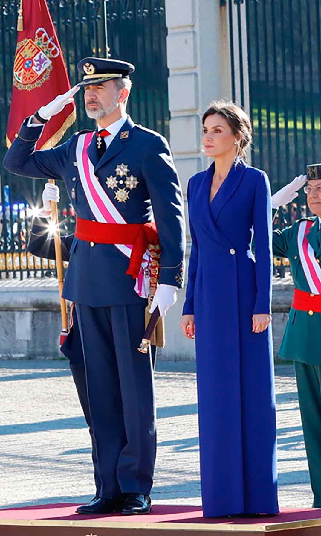 Reyes Felipe y Letizia - Pascua Militar © Casa S.M. El Rey
