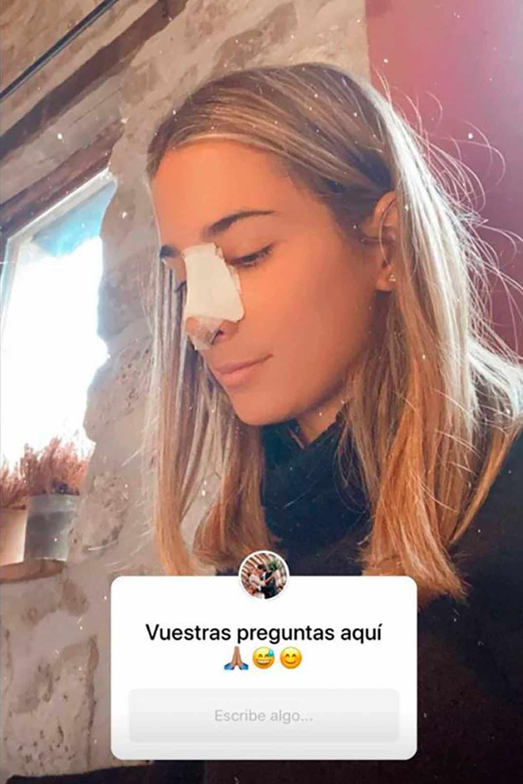 María Pombo © Stories/Instagram