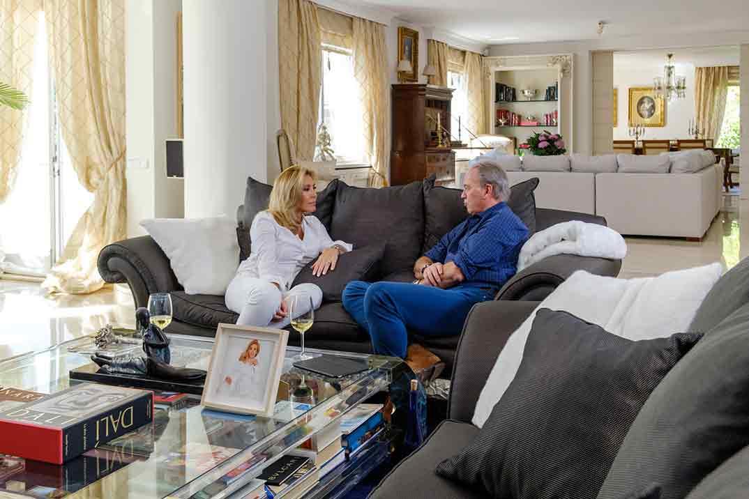Norma Duval y Bertín Osborne - Mi casa es la tuya © Mediaset