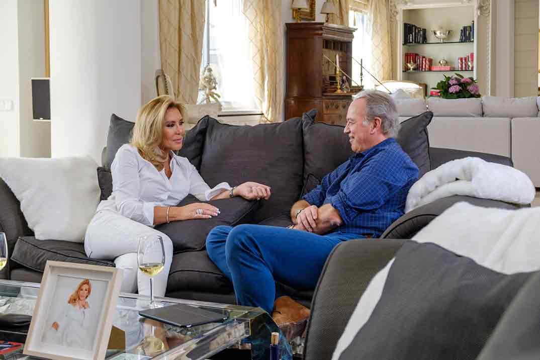 Norma Duval con Bertín Osborne en 'Mi casa es la tuya'