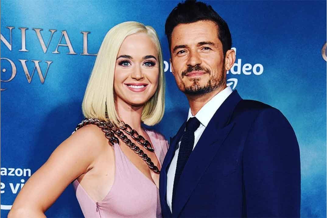 Katy Perry y Orlando Bloom esperan su primer hijo