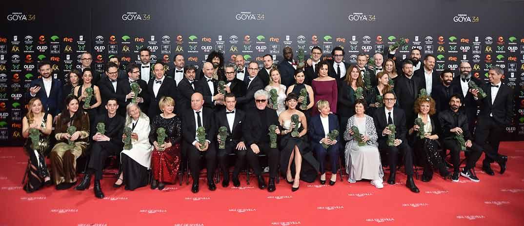 Premios Goya 2020- Foto: ©Ana Belén Fernández – Cortesía de la Academia de Cine