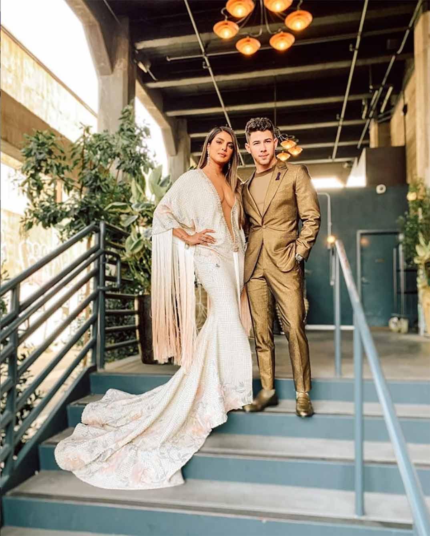 Priyanka Chopra y Nick Jonas © Instagram