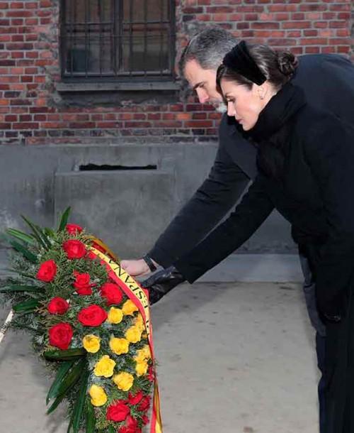 Los Reyes visitan Auschwitz en el 75º aniversario de su liberación