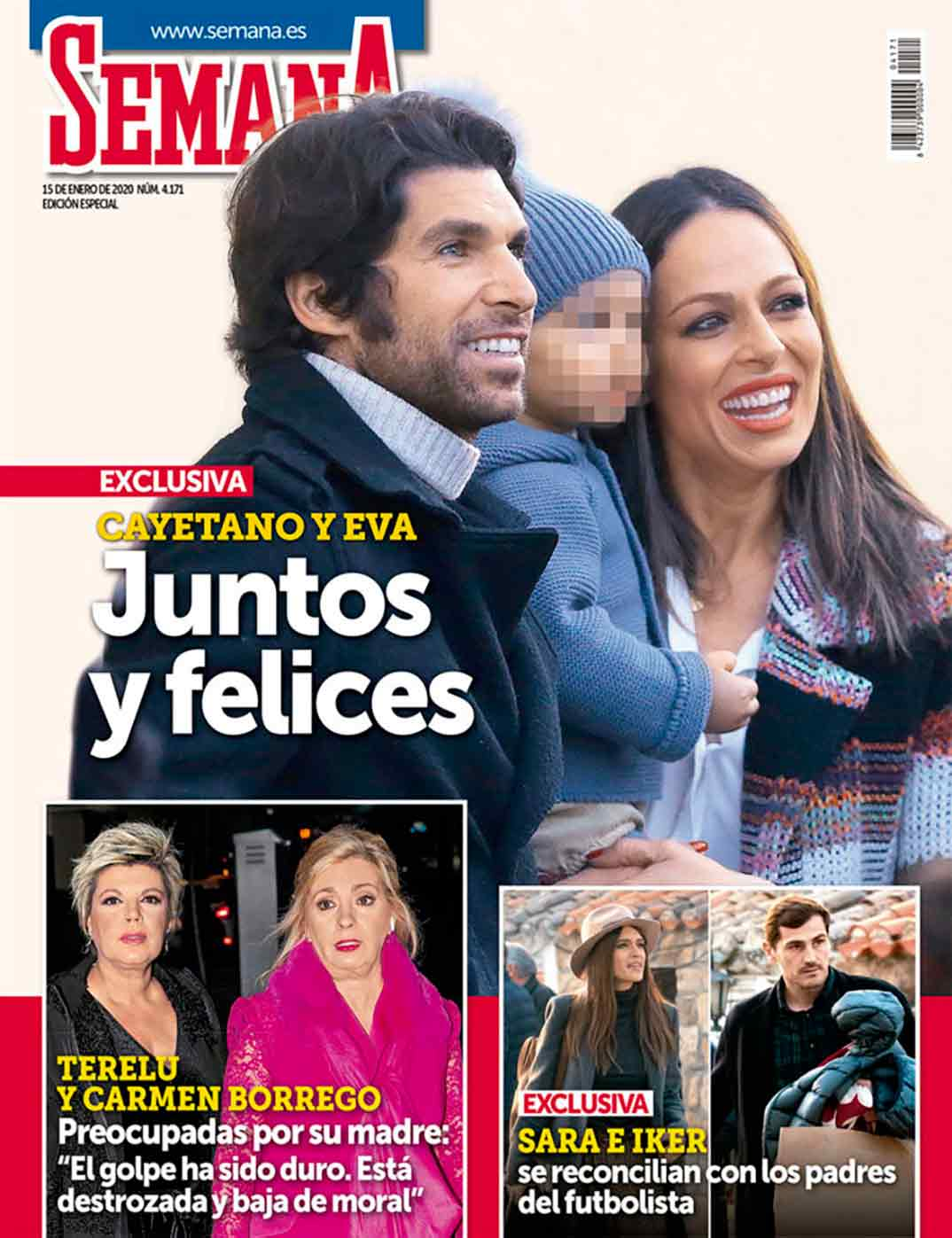Eva González y Cayetano Rivera - Revista Semana