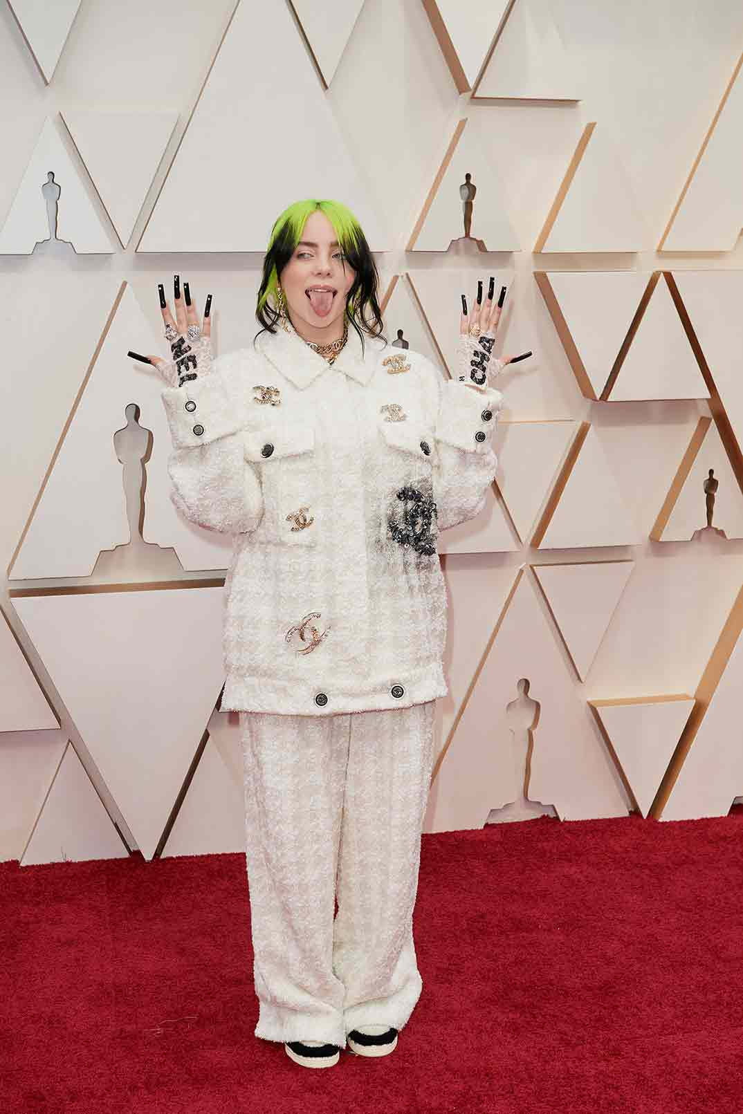 Billie Eilish - Oscars 2020 © A.M.P.A.S.