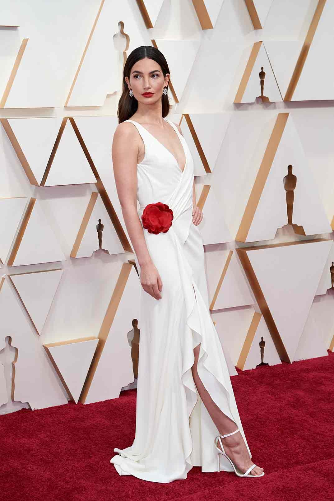 Lily Aldridge - Oscars 2020 © A.M.P.A.S.