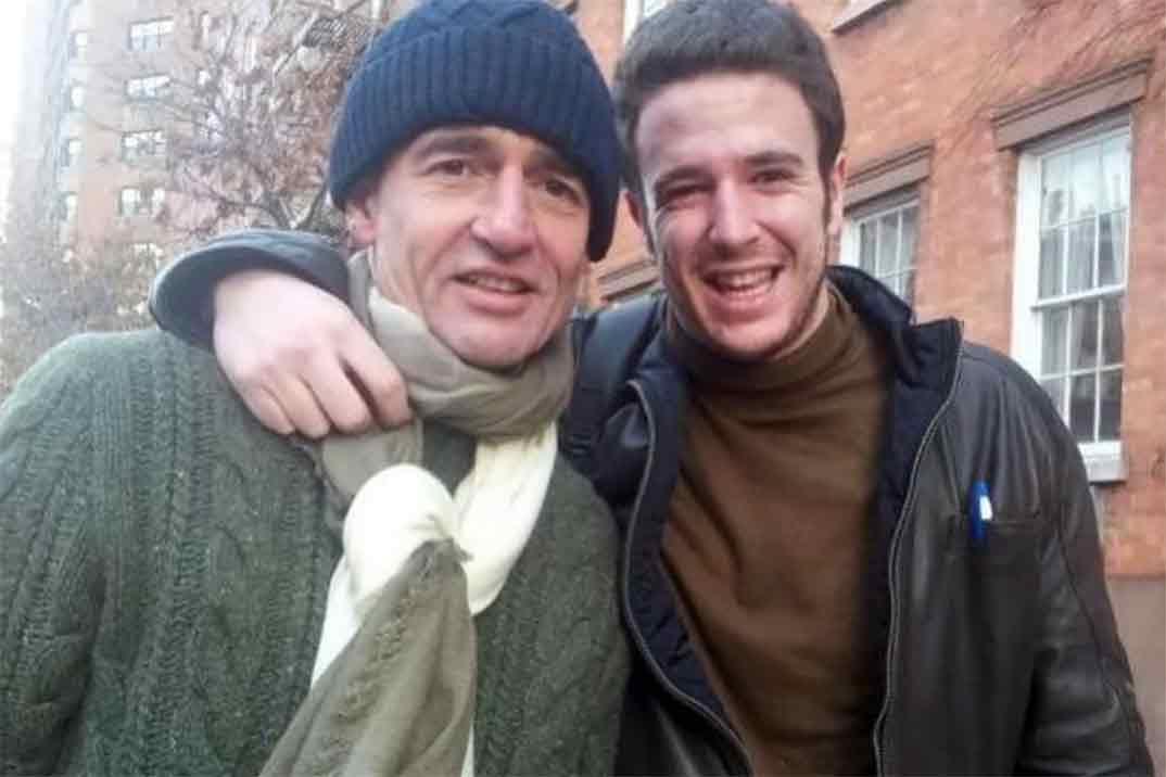 Alessandro Lequio recuerda a su hijo Alex con una fotografía inédita