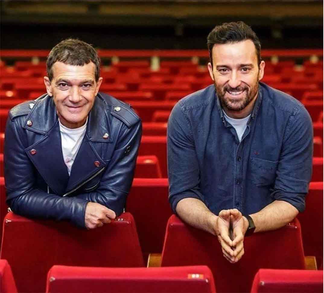 Antonio Banderas y Pablo Puyol © Instagram