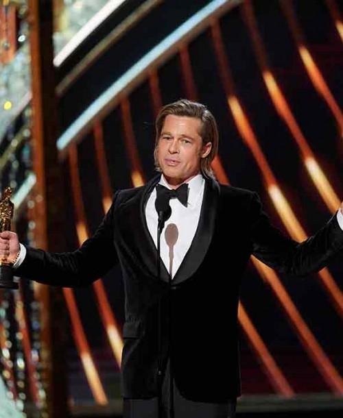 La emotiva dedicatoria de Brad Pitt a sus hijos tras ganar el Oscar