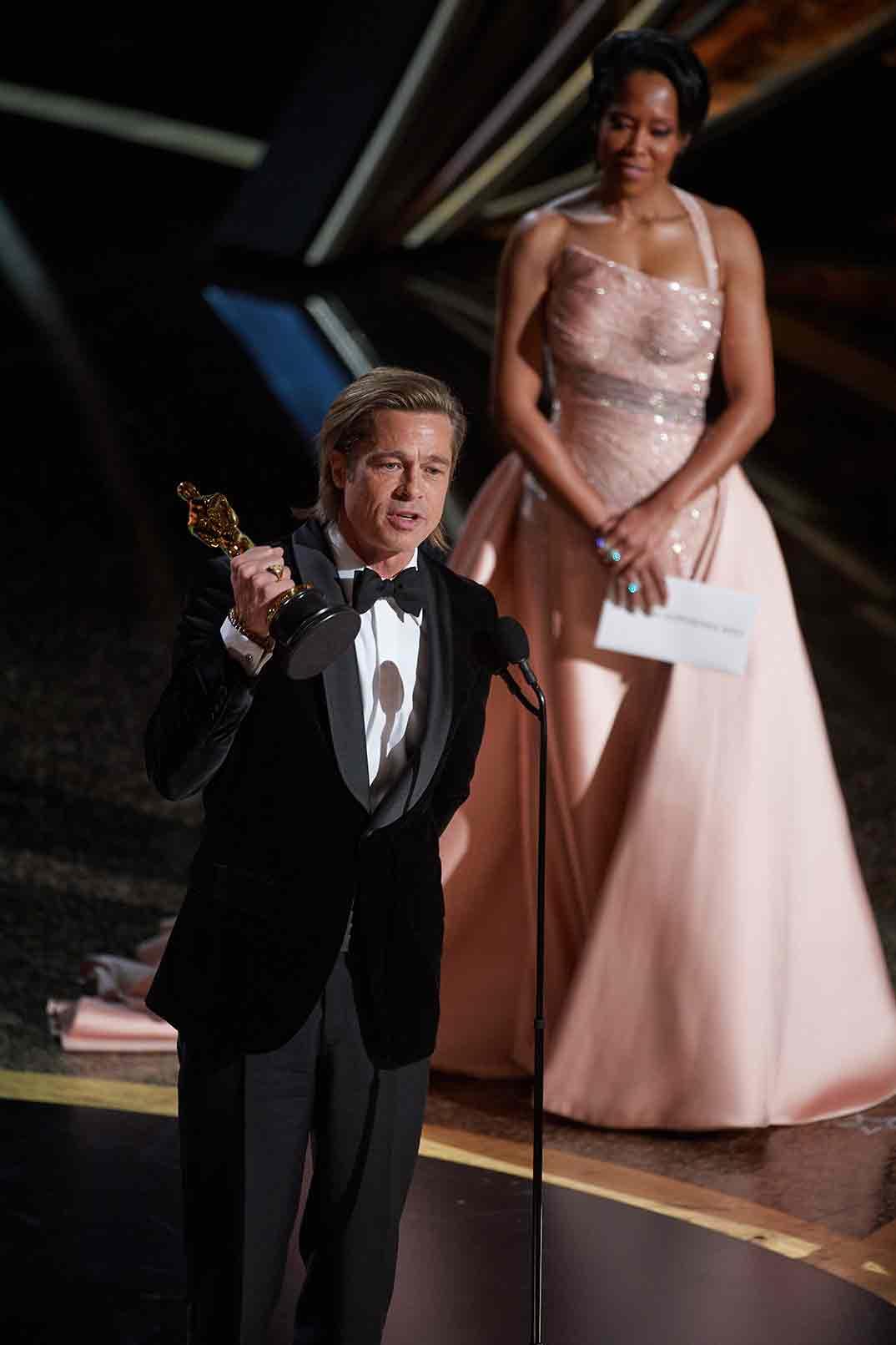 Brad Pitt- Mejor Actor Secundario - Oscars 2020 © A.M.P.A.S.