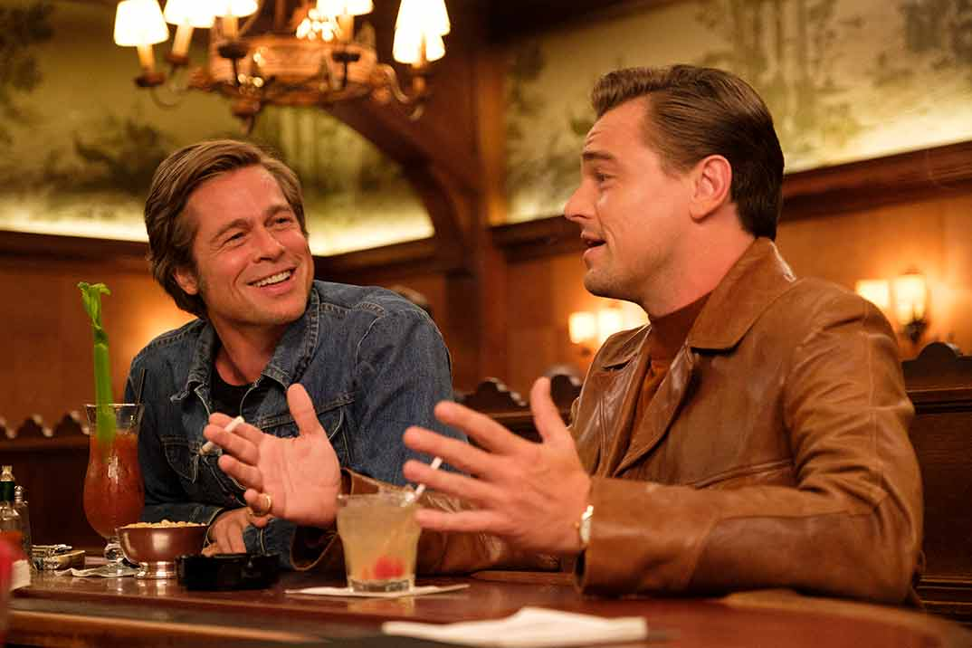 Brad Pitt y Leonardo DiCaprio - One Upon a Time in Hollywood