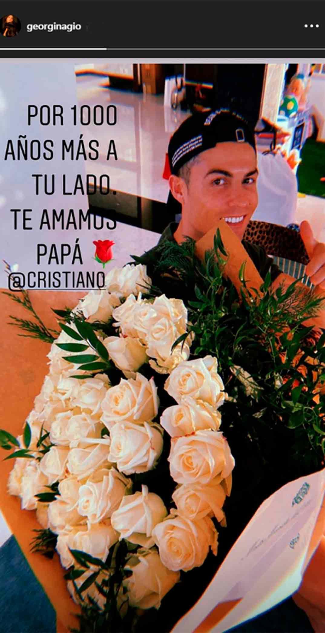 Cristiano Ronaldo 35 cumpleaños © Redes Sociales