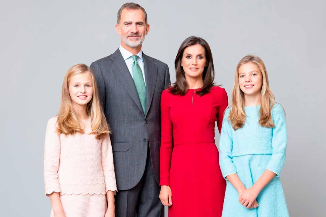 Los nuevos retratos oficiales de la Familia Real