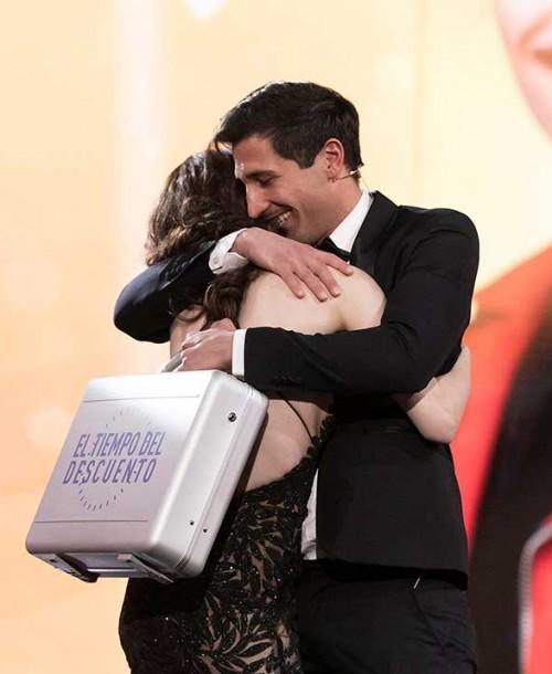 Gianmarco Onestini, ganador de 'El tiempo del descuento'