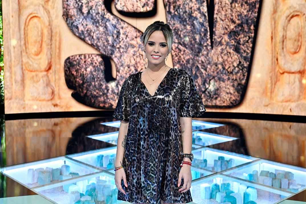 Gloria Camila, sorprendida por la hermana menor de Ortega Cano en 'Volverte a ver'