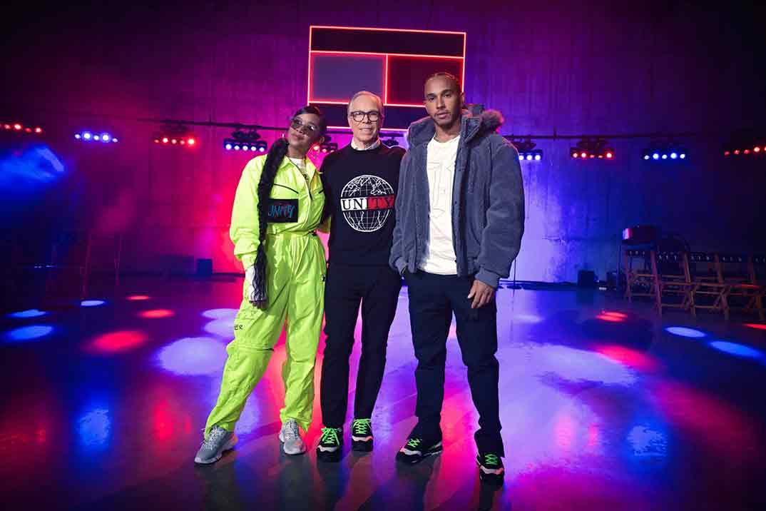 Tommy Hilfiger y Lewis Hamilton - TommyXLewis - Londres Fashion Week