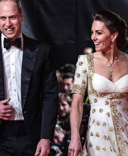 Kate Middleton se viste de princesa en los Premios Bafta