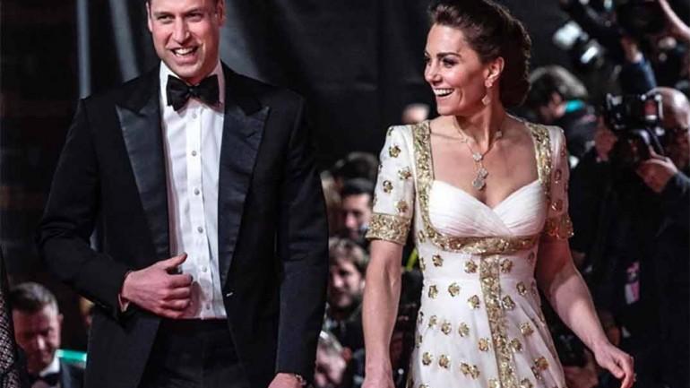 Duques de Cambridge - Premios Bafta 2020 © kesingtonroyal/Instagram