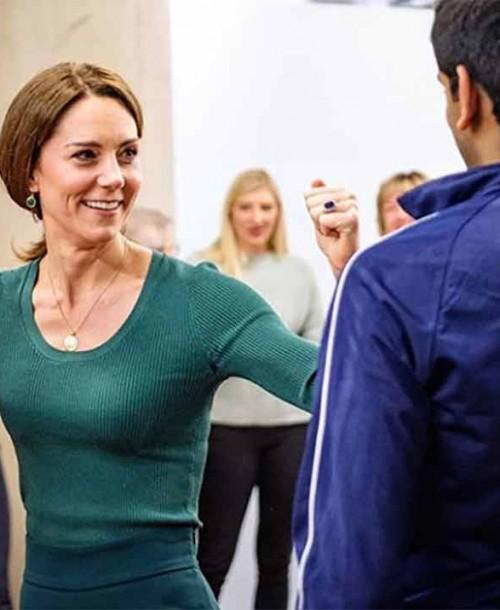 Kate Middleton estrena pantalones de Zara de 8 euros