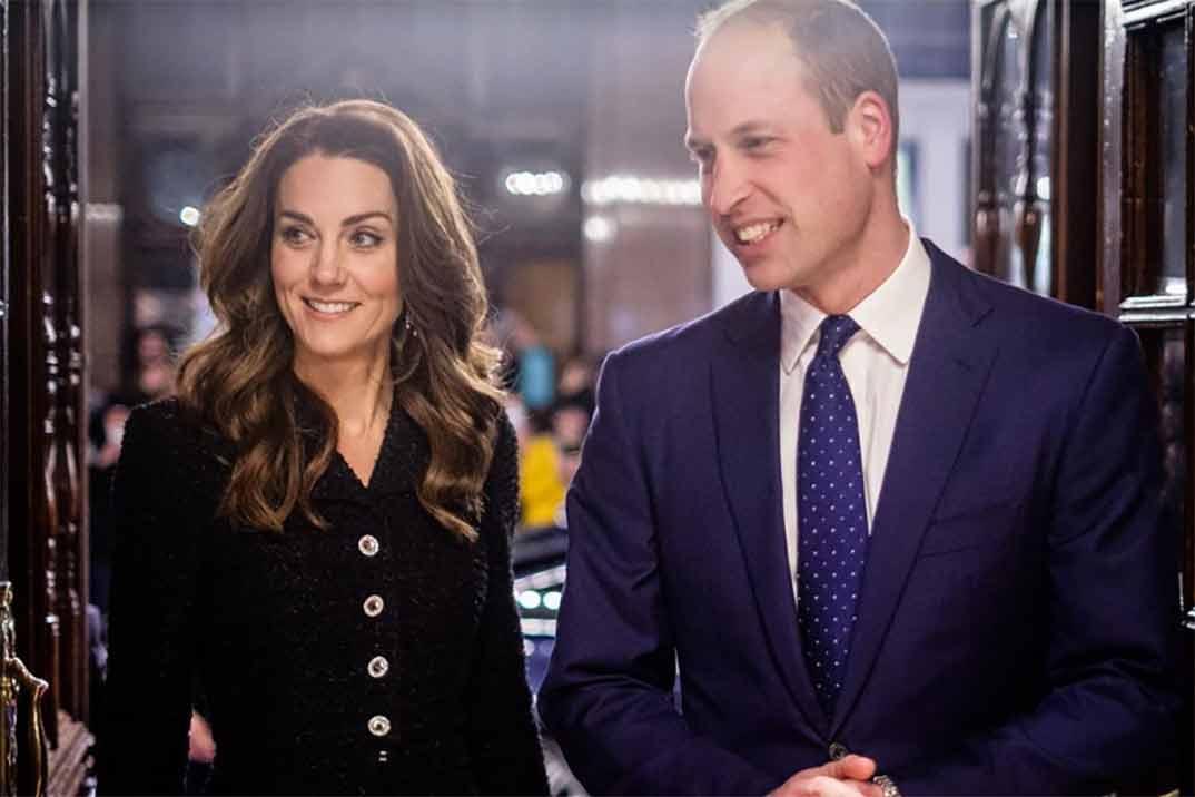 Kate Middleton apuesta por el tweed para la noche