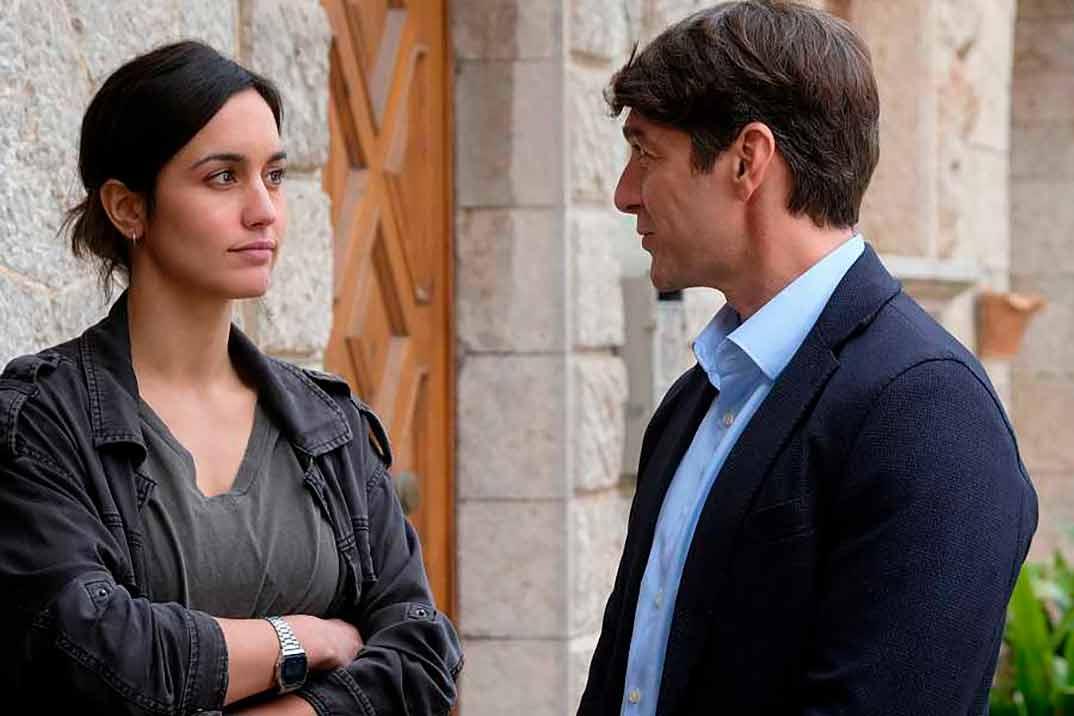 Megan Montaner y Félix Gómez - La caza. Tramuntana © RTVE