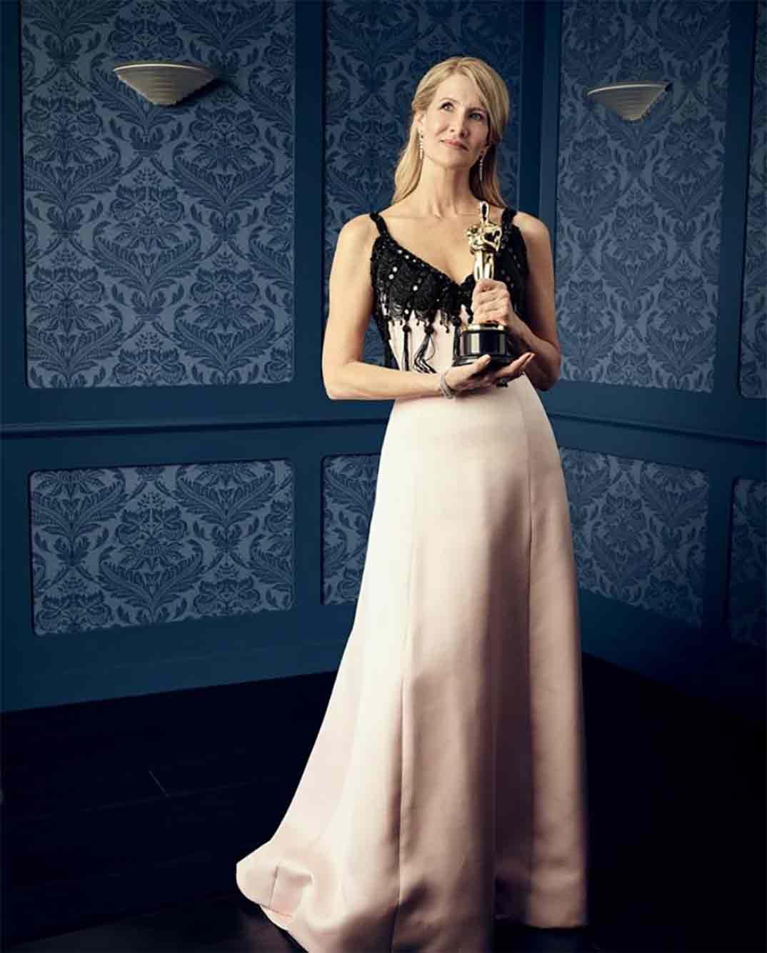 Laura Dern - Mejor Actriz de Reparto - Oscars 2020 ©theacademy/Instagram