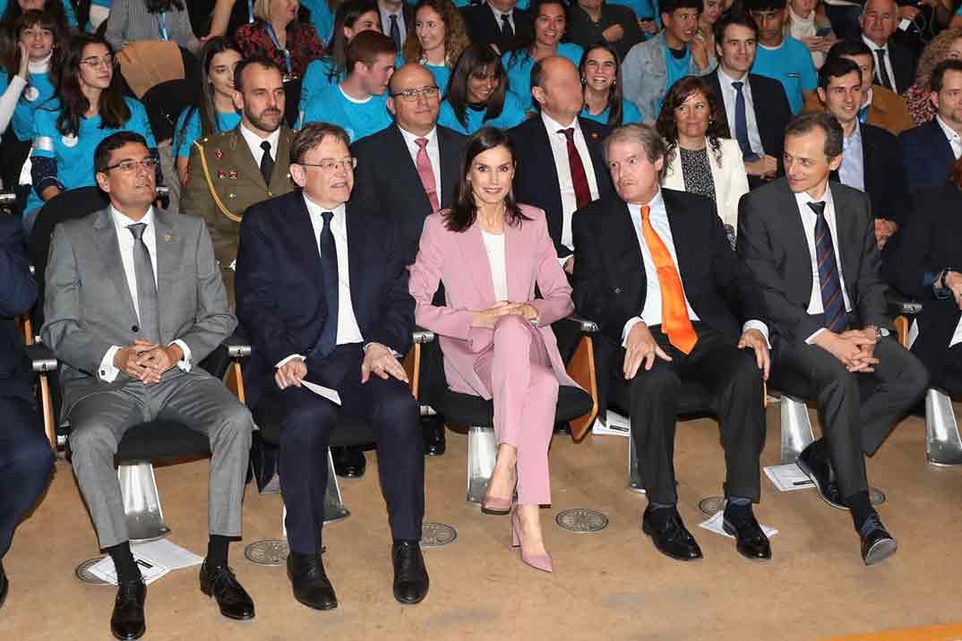 """Reina Letizia - """"Premio Princesa de Girona"""" en la categoría """"Investigación Científica © Casa S.M. El Rey"""