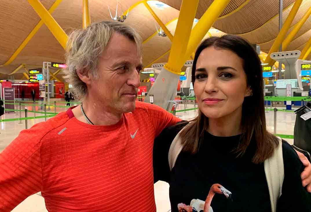 Paula Echevarría y Jesús Calleja © Mediaset