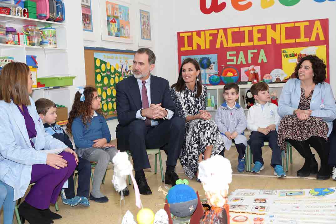 Las mejores imágenes de los reyes Felipe y Letizia en Écija