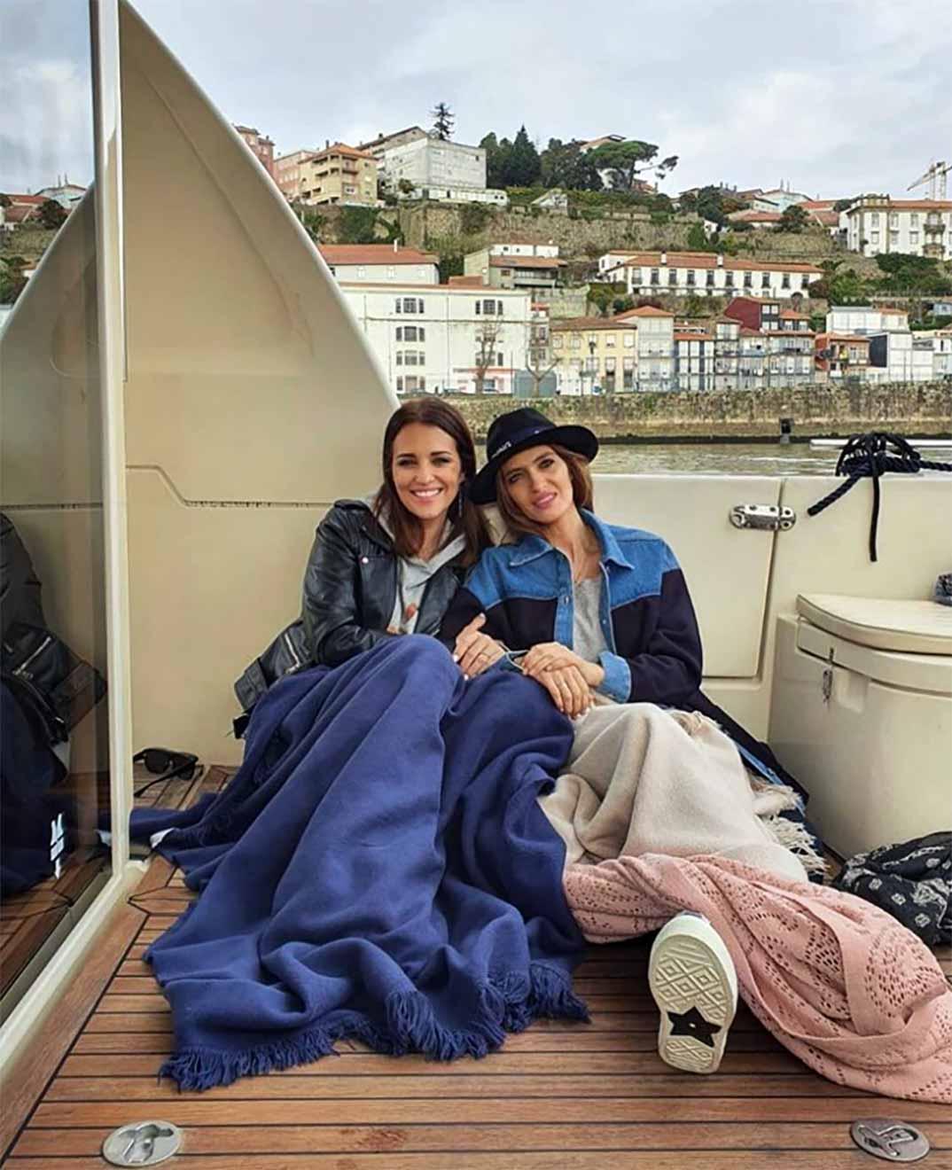 Paula Echevarría y Sara Carbonero © Instagram