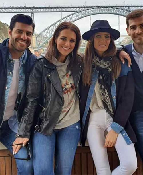 Sara Carbonero e Iker Casillas, los perfectos anfitriones de Paula Echevarría y Miguel Torres