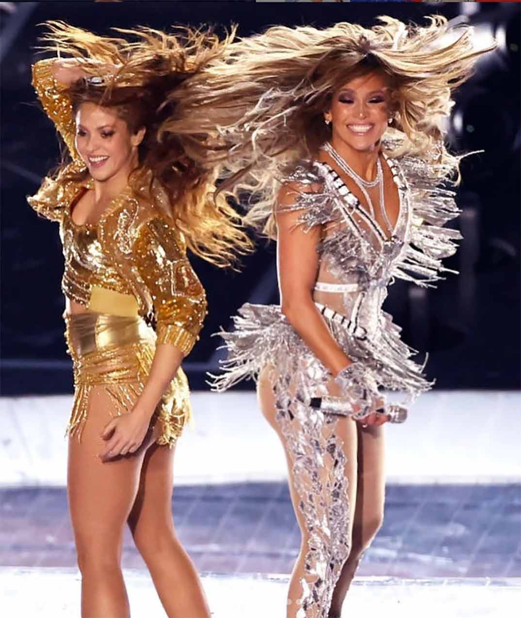 Shakira y Jennifer López - Súper Bowl © Instagram