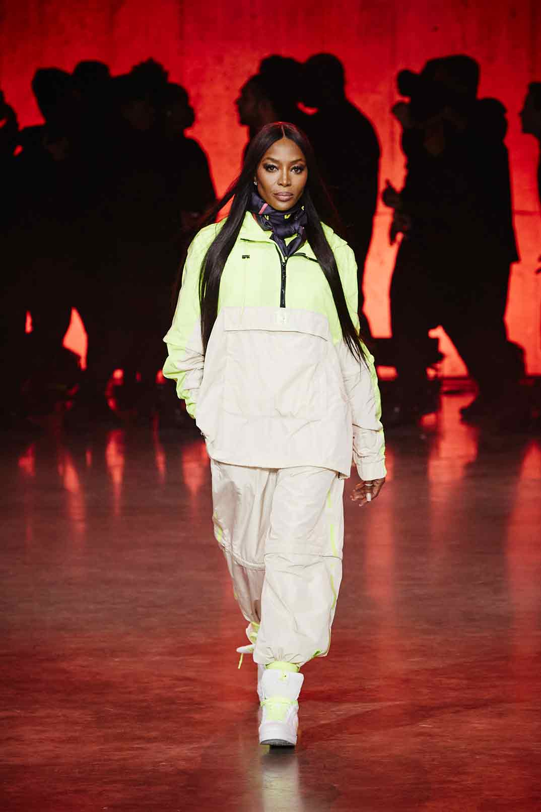 Naomi Campbell - TommyXLewis - Londres Fashion Week