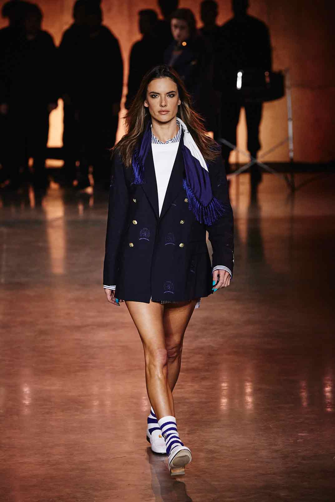 Alessandra Ambrosio - TommyXLewis - Londres Fashion Week