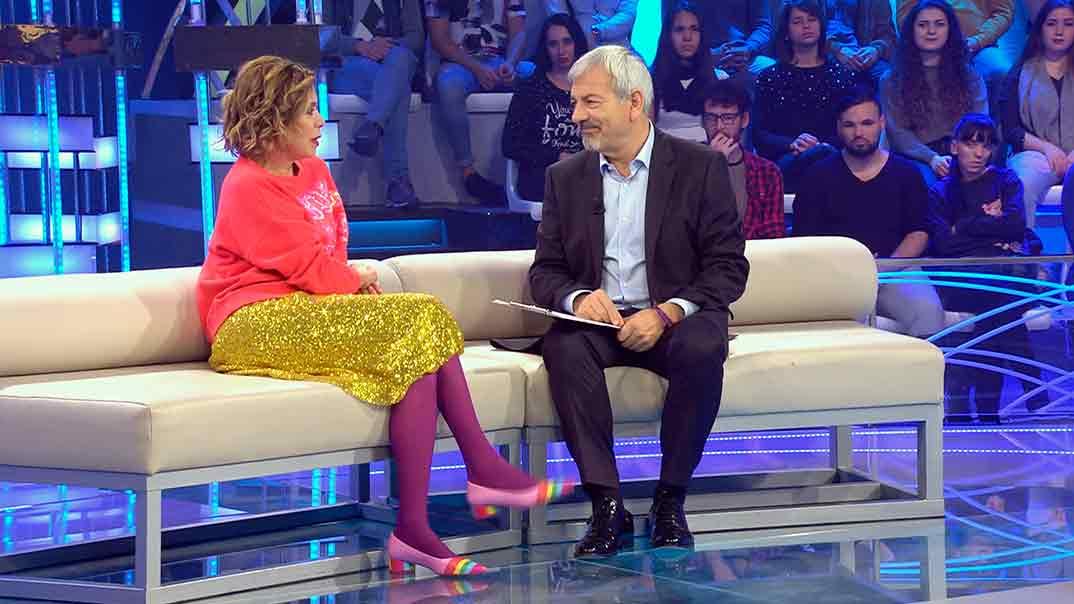Agatha Ruíz de la Prada y Carlos Sobera - Volverte a ver © Mediaset