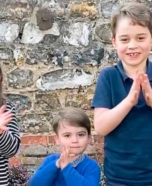 George, Charlotte y Louis de Cambridge, su entrevista más entrañable