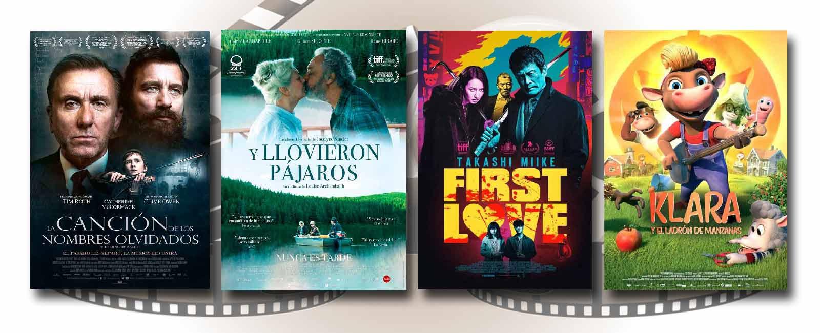 Estrenos de Cine de la Semana… 13 de Marzo 2020