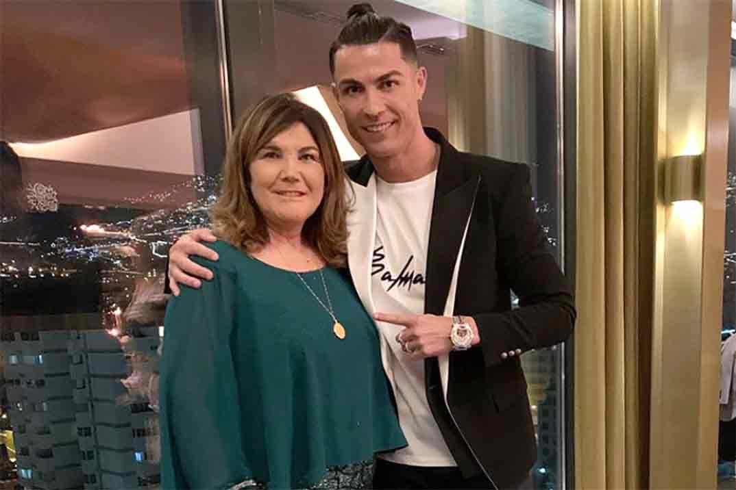Primeras palabras de Cristiano Ronaldo tras el ictus de su madre