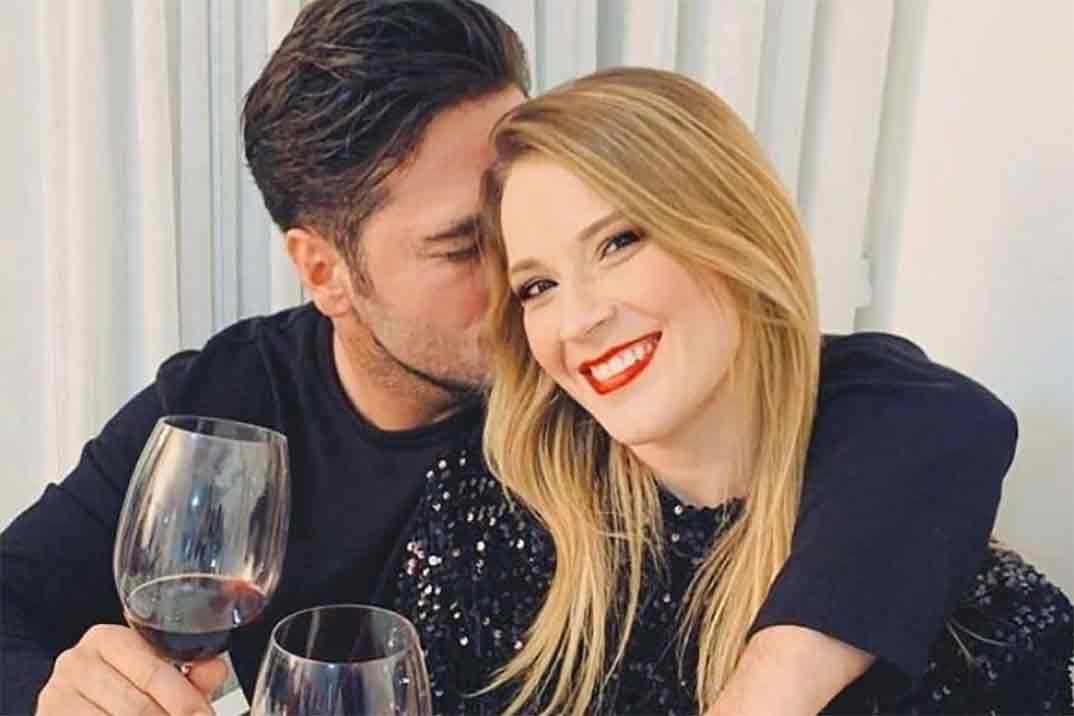 La romántica felicitación de David Bustamante a Yana Olina por su cumpleaños