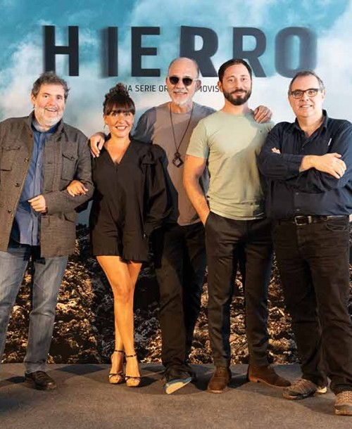 'Hierro' presentación de su segunda temporada