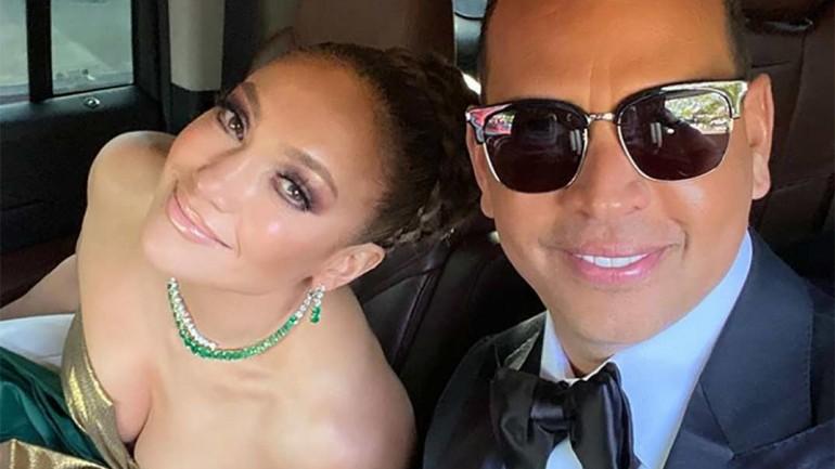 Jennifer López y Álex Rodríguez © Instagram