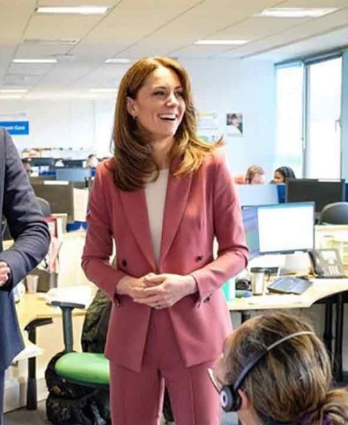 Kate Middleton se inspira en la reina Letizia con su último estilismo