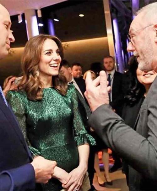 Kate Middleton apuesta por el verde para el día y la noche