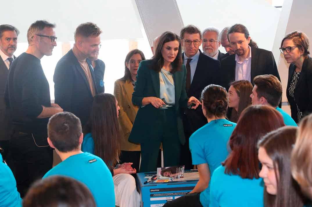 "Reina Letizia - Premio Fundación Princesa de Girona 2020 ""Social"" © Casa S.M. El Rey"